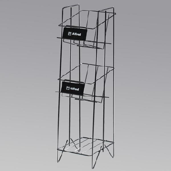 Magazine Display Racks Rfc Wire Forms Inc Free Standing Magazine Rack Magazine Display Racks Wire Racks Free Standing Magazine Rack Magazine Display Racks Wire Racks